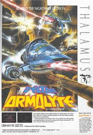 Advert for Armalyte on the Atari ST.