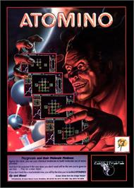 Advert for Atomino on the Commodore Amiga.