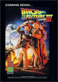 Advert for Back to the Future 2 on the Atari ST.