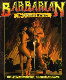 Advert for Barbarian on the MSX.