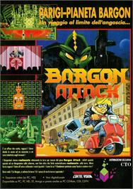 Advert for Bargon Attack on the ScummVM.