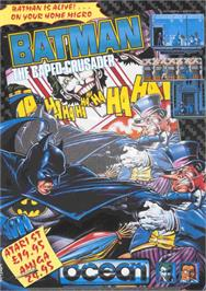 Advert for Batman: The Caped Crusader on the Commodore Amiga.