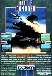 Advert for Battle Command on the Atari ST.