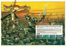 Advert for Battle Valley on the Commodore 64.