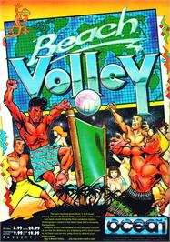Advert for Beach Volley on the Atari ST.