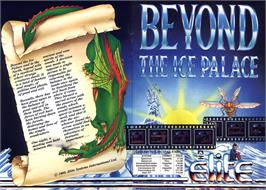 Advert for Beyond the Ice Palace on the Atari ST.