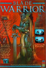 Advert for Blade Warrior on the Atari ST.