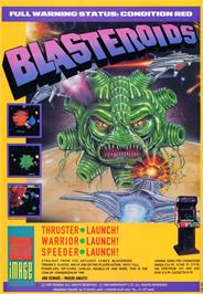 Advert for Blasteroids on the Atari ST.