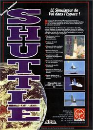 Advert for Blue Angels: Formation Flight Simulation on the Commodore Amiga.