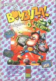 Advert for Bombuzal on the Nintendo SNES.
