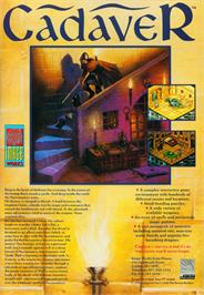 Advert for Cadaver on the Atari ST.