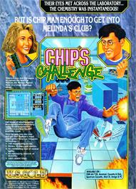 Advert for Chip's Challenge on the Atari ST.