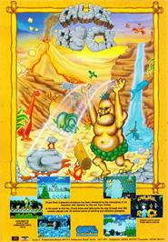 Advert for Chuck Rock on the Commodore Amiga CD32.
