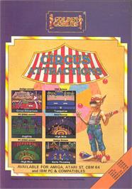 Advert for Circus Attractions on the Commodore Amiga.