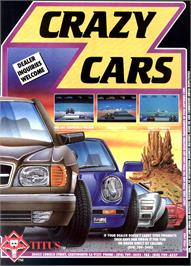 Advert for Crazy Cars 2 on the Commodore Amiga.