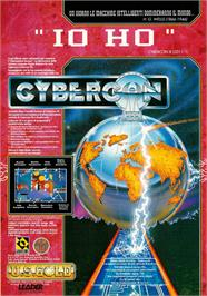 Advert for Cybercon 3 on the Atari ST.
