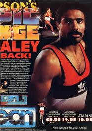 Advert for Daley Thompson's Olympic Challenge on the Atari ST.