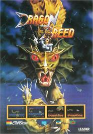 Advert for Dragon Breed on the Commodore Amiga.