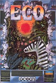 Advert for Eco on the Commodore Amiga.