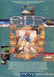 Advert for Elf on the Commodore Amiga.