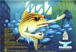 Advert for Fish on the Commodore Amiga.
