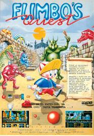 Advert for Flimbo's Quest on the Commodore Amiga.