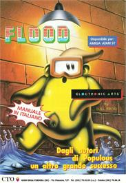 Advert for Flood on the Nintendo Game Boy Color.