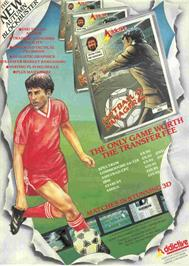 Advert for Football Manager 2 on the Atari ST.