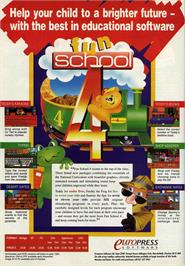 Advert for Fun School 4: for 5 to 7 Year Olds on the Commodore Amiga.
