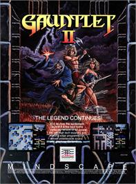 Advert for Gauntlet II on the Atari ST.