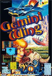 Advert for Gemini Wing on the Atari ST.