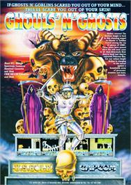 Advert for Ghouls'n Ghosts on the Atari ST.