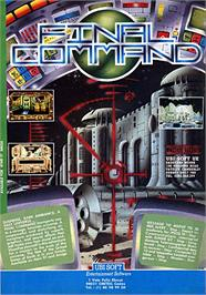 Advert for Global Commander on the Amstrad CPC.
