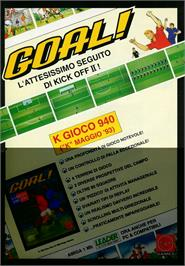 Advert for Goal on the Atari ST.