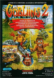 Advert for Gobliins 2: The Prince Buffoon on the ScummVM.