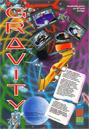 Advert for Gravity on the Atari ST.