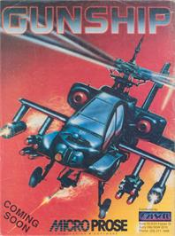 Advert for Gunship on the Apple II.