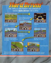 Advert for Hard Drivin' on the Atari ST.