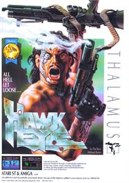 Advert for Hawkeye on the Atari ST.