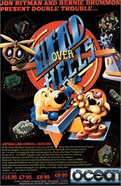 Advert for Head Over Heels on the Atari ST.