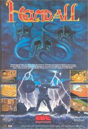 Advert for Heimdall on the Atari ST.