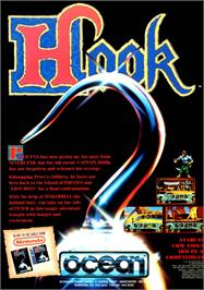 Advert for Hook on the Atari ST.
