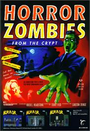 Advert for Horror Zombies from the Crypt on the Commodore Amiga.