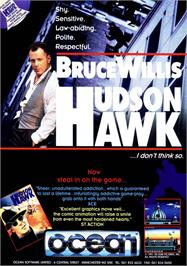 Advert for Hudson Hawk on the Atari ST.