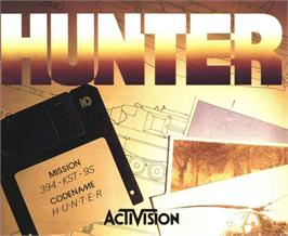 Advert for Hunter on the Atari ST.