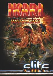 Advert for Ikari Warriors on the Amstrad CPC.