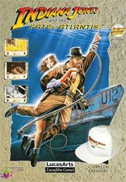 Advert for Indiana Jones and the Temple of Doom on the Atari ST.