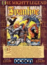 Advert for Ivanhoe on the Commodore Amiga.