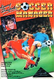 Advert for Kenny Dalglish Soccer Manager on the Atari 8-bit.