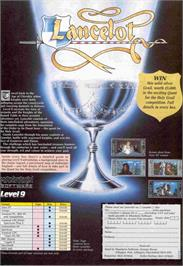 Advert for Lancelot on the Amstrad CPC.